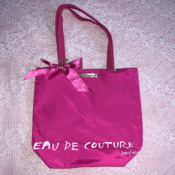 Juicy Couture Handbags - Juicy Couture- dream doll pink